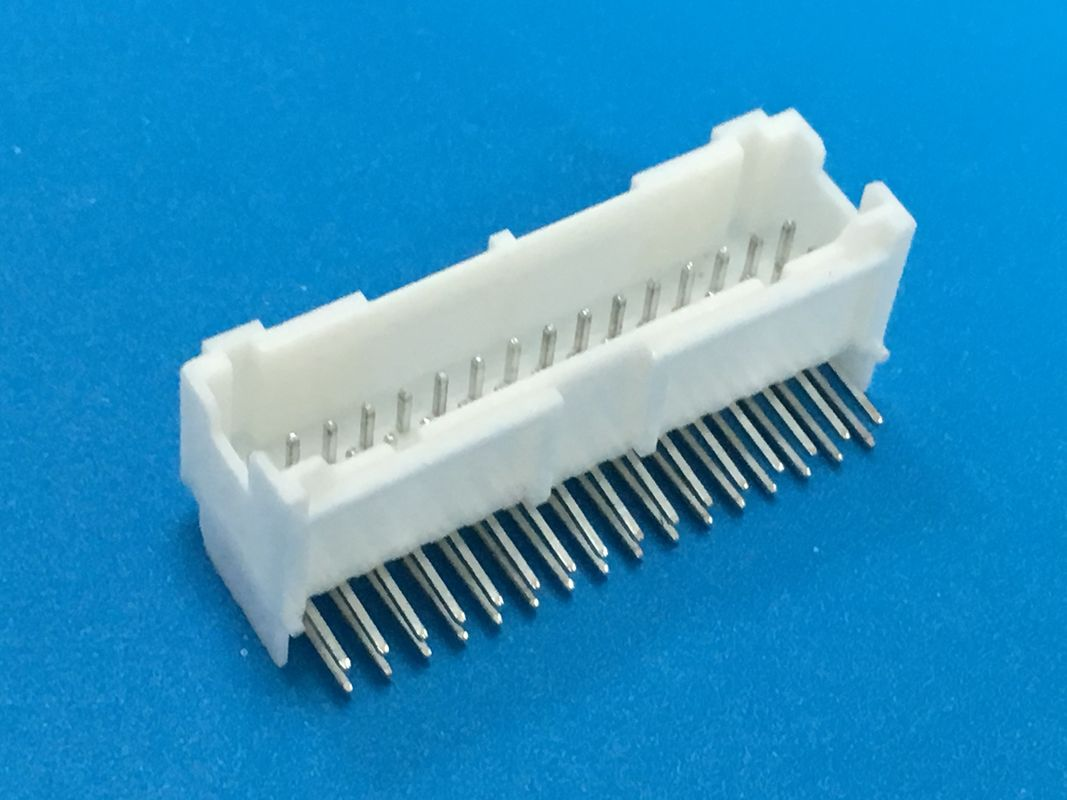 Right Angle DIP 20 Pin PCB Stacking Connectors For AWG#18-22 Applicable Wire