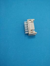 Chiny Dual Row PCB Shrouded Header Connectors Straight - Angle Wafer DIP 180 2 X 3 Poles dystrybutor