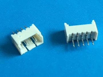 Chiny 2 - 14 Pin PCB Shrouded Header Connector 1.25mm Pitch 3A AC / DC ISO Approval dystrybutor
