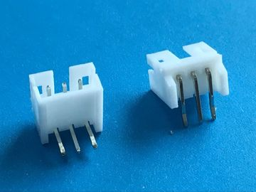 Chiny Pcb Socket Connector Through Hole 3 Pin Right Angle Connector Shrouded Header Type fabryka