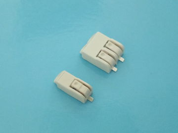 Chiny 2 Pole SMD LED Quick Connector 4.0mm Pitch Terminal Block Connectors 9A AC / DC fabryka