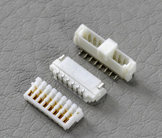 Chiny JVT 0.8mm Pitch Cimp Style Disconnectable Insulation Displacement IDC  Socket Connector fabryka