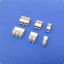 Chiny 4 mm Pitch SMD LED Connector 2 Poles Tin - Plated Terminal Block Connector fabryka